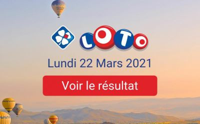 Loto result of Monday March 22, 2021