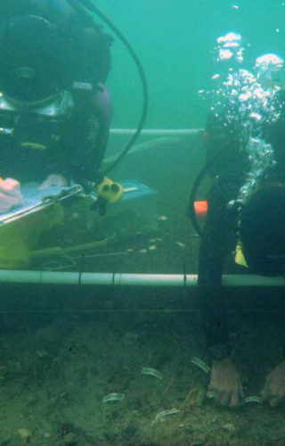 underwater archaeology at LSS-002-720