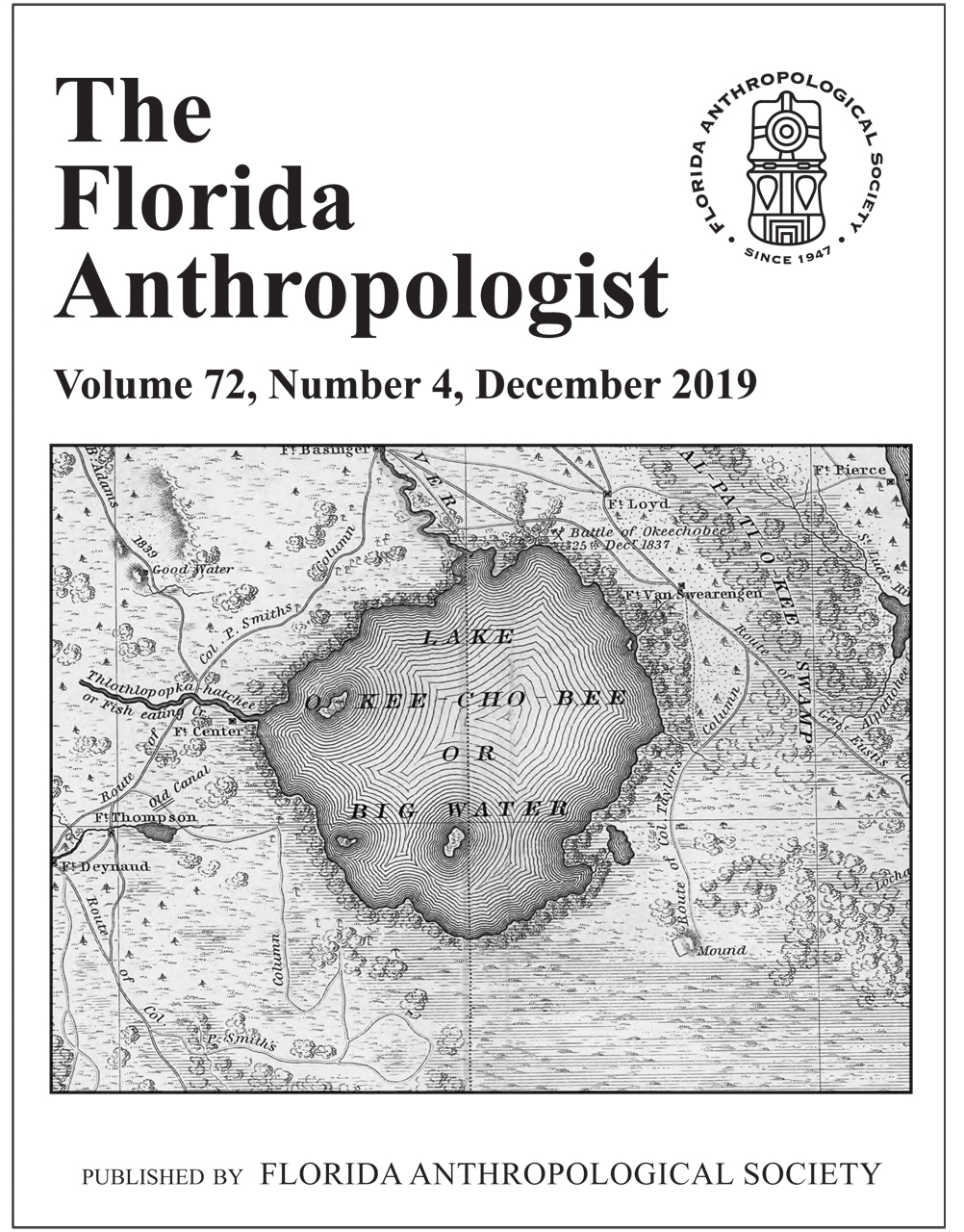 The Florida Anthropologist Volume 72, Number 4 (PDF Digital Download)