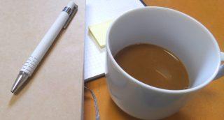 タニタカフェインレスコーヒーと本