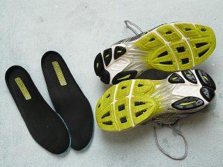 底の柔らかい靴でスポーツ貧血予防