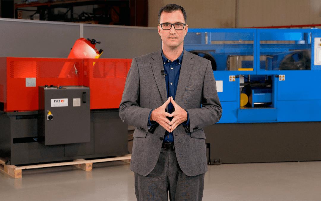 FAT Evento digital 2021 Conferencia online presentacion nuevos productos maquinas de corte sierras de cinta