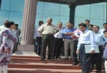 Inspection for medical colleges in Surguja