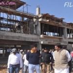 Public Works Minister Rajesh Muunt yesterday in Ambikapur