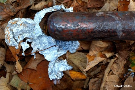 Metall im Herbst