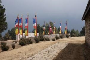 Tenzeng Statue