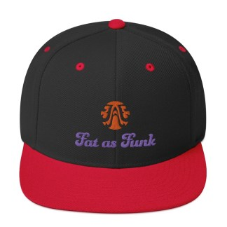Cool snapback hat baseball cap Fat As Funk