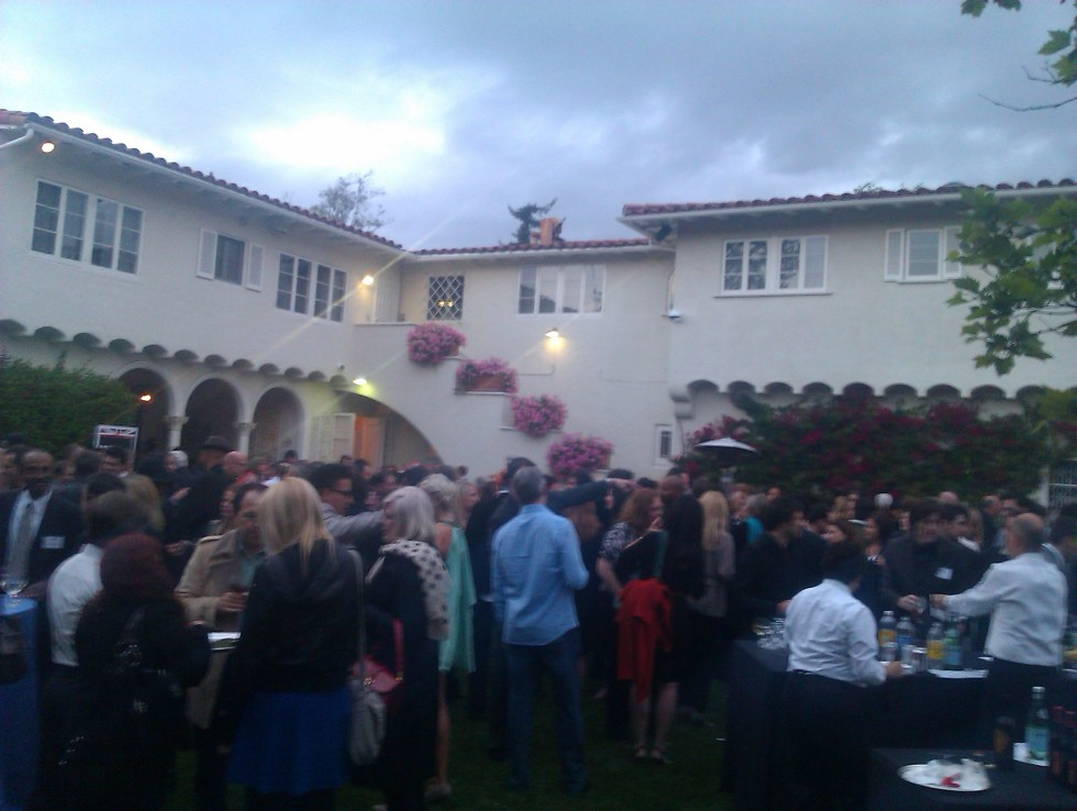British consulate networking drinks party, Los Angeles