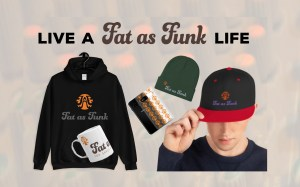 fat as funk mastering mixing streetwear hoodie t shirt beanie merchandise