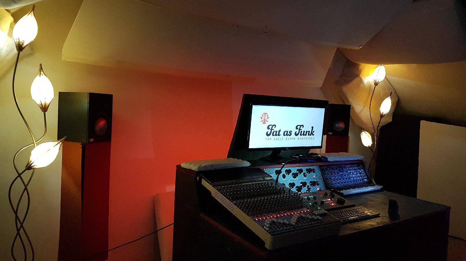 professional mastering studio fat as funk