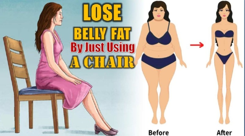 Chair Exercises 5 Steps To Reduce Belly Fat