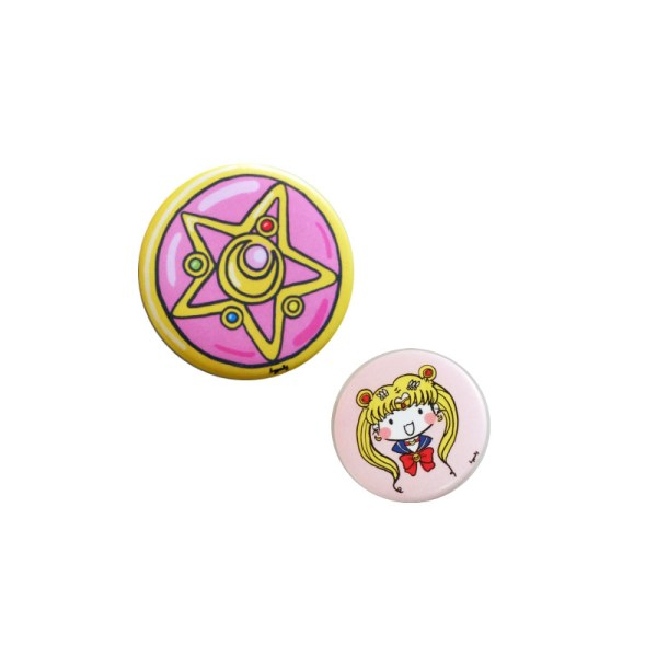 Sailormoon Brooch Pack