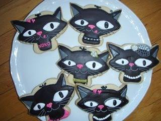 Fat Cat Cookies | HOW NICE TO BE ADMIRED