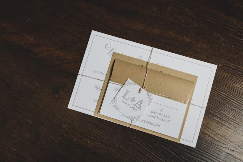 Laura+Anthony by Fat Cat Paperie