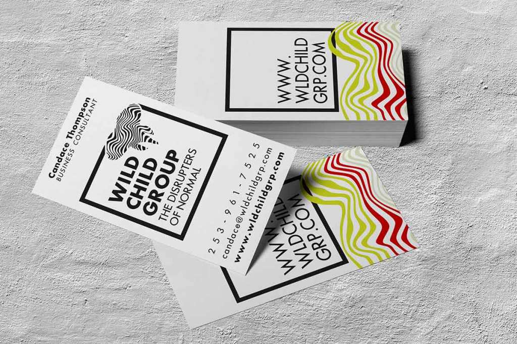 Wild Child Group business cards