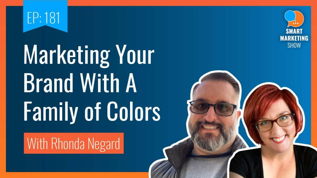 WP Watercooler YouTube image reads, Marketing Your Brand With A Family of Colors