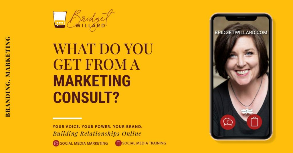 What do you get from a marketing consult?