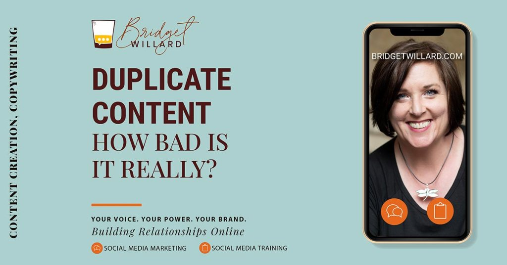 Duplicate content? How bad is it really?