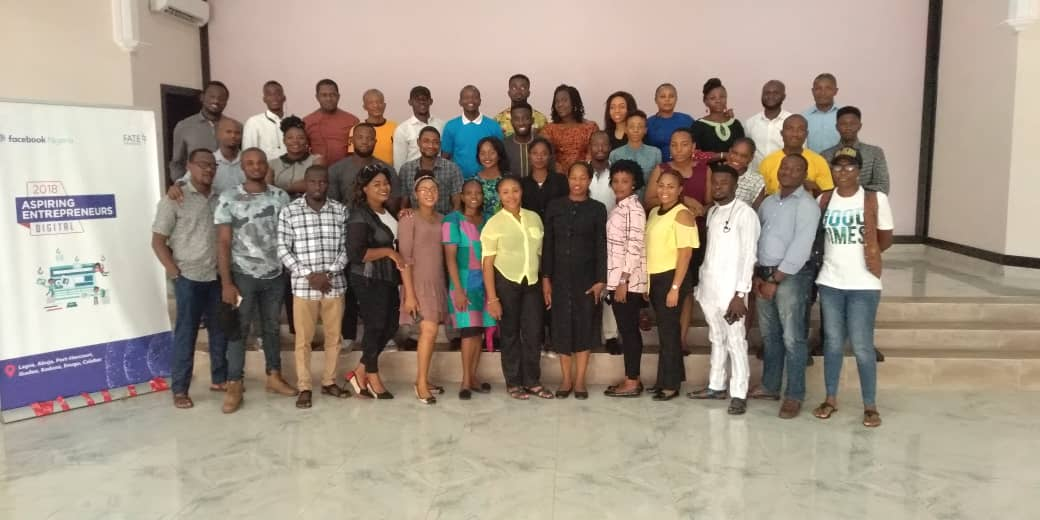 The 40 Entrepreneurs who made our Aspiring Entrepreneurs Digital Program Enugu