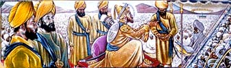 Baisakhi Day - Painting from a mural by Ed O'Brien