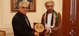 السفير أحمد رمضان يزور مجلس عُمان ويلتقي برئيسي مجلس الدولة ومجلس الشورى
