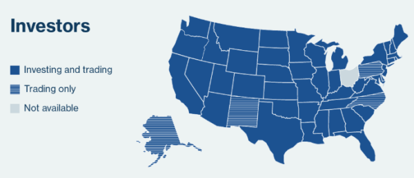 Lending Club is outlawed or limited in five states