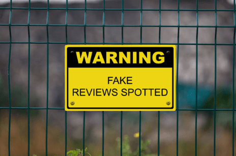 Fake reviews do not help and oftentimes they can get you banned.