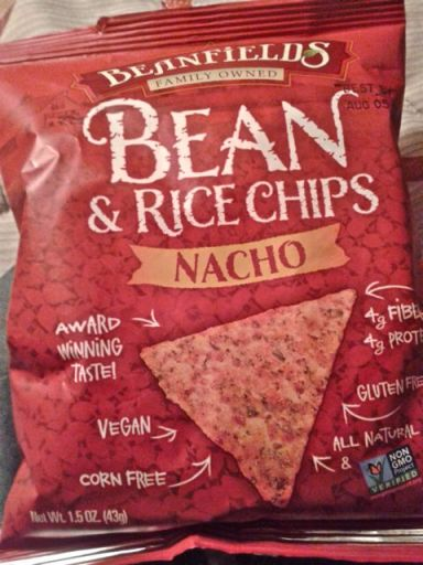 Beanfields bean & rice nacho chips