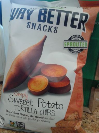 Sweet potato tortilla chips by Way Better