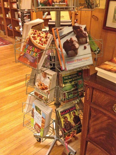 More vegan books