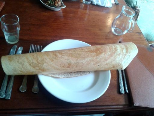 Dosa - huge but lacking