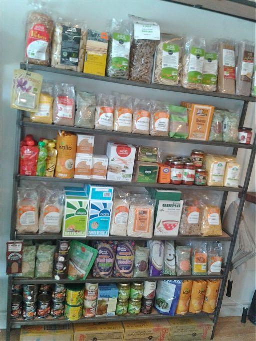 Organic, vegan groceries