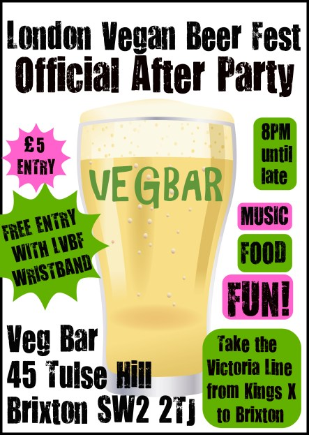 after party flyer and poster