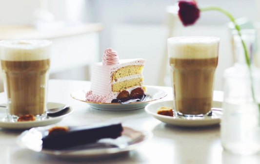 Cafe Vux Berlin, Coffee and cake