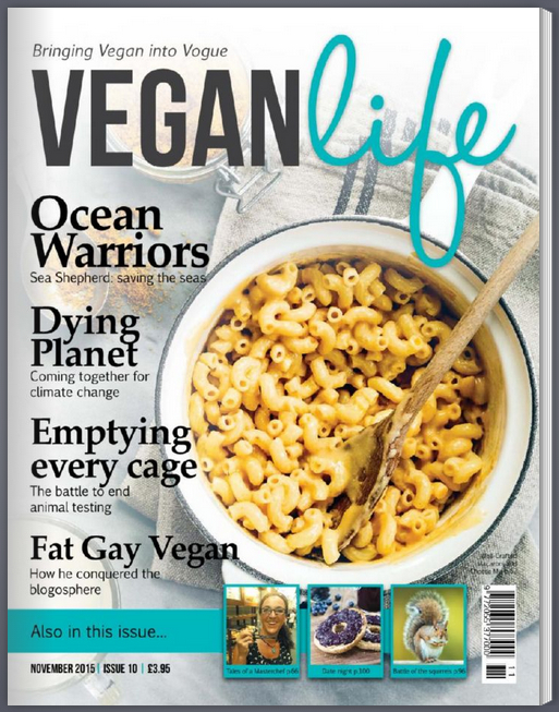 vegan life cover