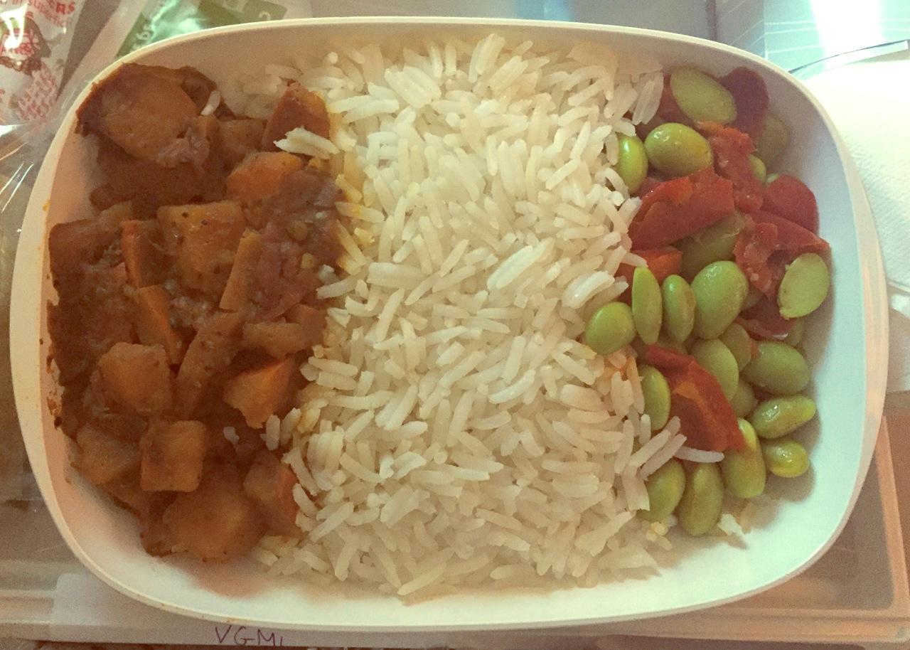 Vegan via Emirates