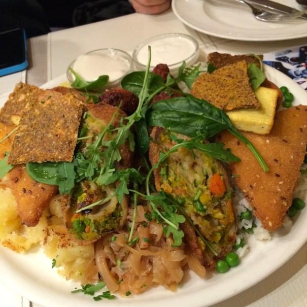 platter for two vegan