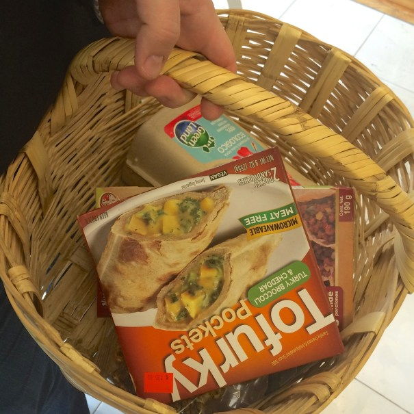 shopping basket vegan
