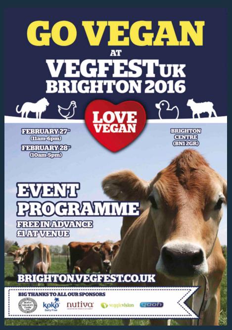 vegfest programme