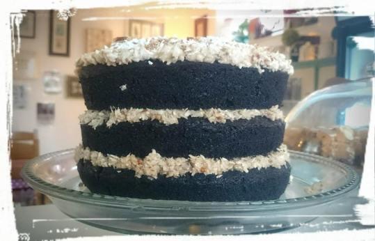 FGV choc bounty cake