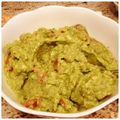 My nearly famous guacamole