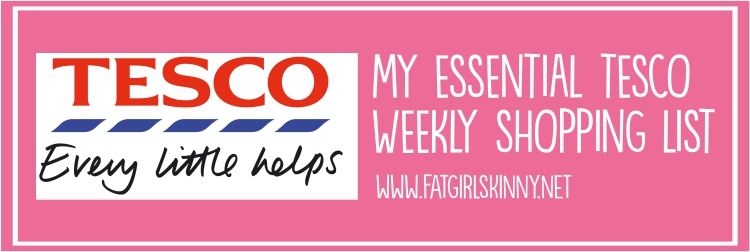 tesco weekly list