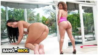 BANGBROS – Richelle Ryan and Bella Get Their Thick Butts Stuffed On Ass Parade!