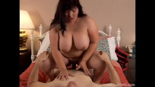 Beautiful big tits asian BBW Olivia loves to fuck