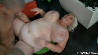 Big tits blonde plumper therapy