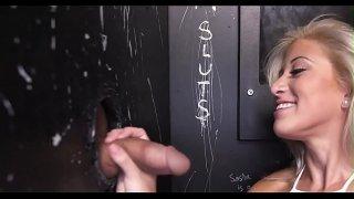 Sexual booty blonde cutie Cristi Ann fucks like an expert