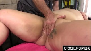 A Masseur Turns a Rubdown into an Orgasm Session for BBW Calista Roxxx