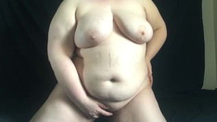 Chubby virgin strips and begs to be filled