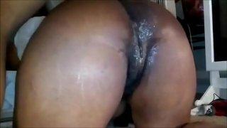 Ebony has Fresno California anal sex