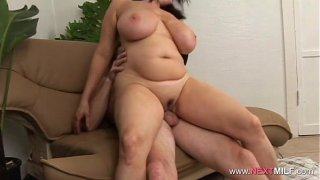 Chubby MILF Gets Fucked For Real